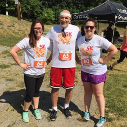 North Suburban YMCA summer 5K road race